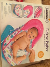 Baby deluxe portable bather