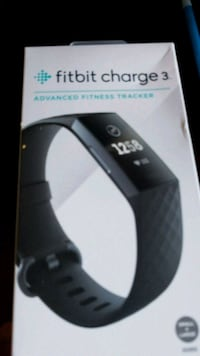 Fitbit Charge 3 box Ashburn, 20147