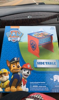 Paw patrol table new in box