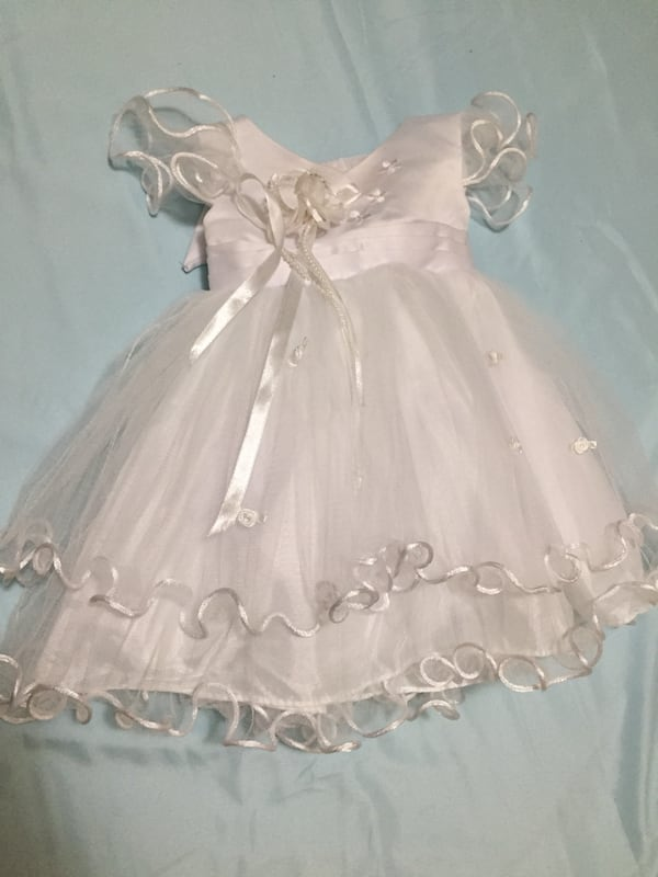 Baby white gown for christening 6d1c8fd8-383d-4265-b2c4-a4cf2f04737f
