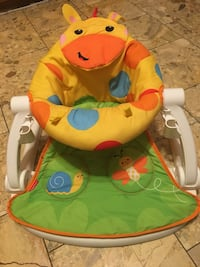 Fisher price baby chair with back support