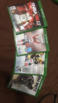 Xbox one games Barrie, L4N 9S7