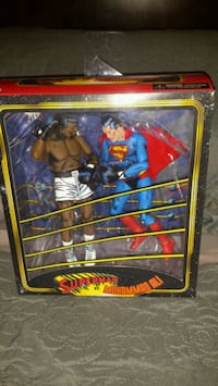 Superman vs Muhammad Ali figures, Unopened  Toronto, M1L 2T3