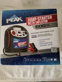 Battery Jump Starter with Tire Inflator -