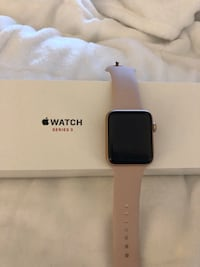 Gold Apple Watch Series 3 GPS + Cellular Bowie