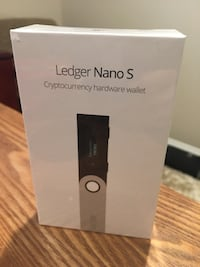 Ledger Nano S Cryptocurrency Wallet Fairfax, 22030