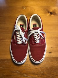 Red Vans Rowley 66/99 Ultracush Men 10.5 Mirabel