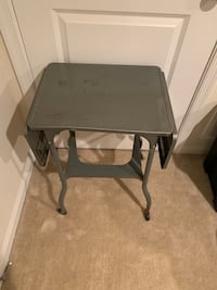Metal Folding Table Antique