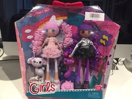 Lalaloopsy Girls Dolls 2-pack - Cloud E.Sky and Storm E.Sky/ Brand new
