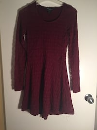 Maroon full sleeve Dress (Medium) Surrey, V3V 4L6