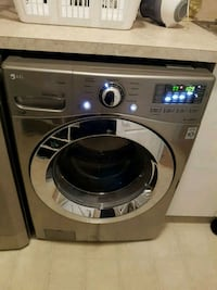 gray LG front-load washer Langley