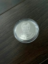 1999 Hall of Fame Wanye Gretzky coin Calgary, T2Z 3C8