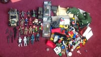 assorted color plastic toy lot Beaumont, 92223