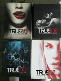 True blood dvd and blu ray  Toronto, M1R 5H2