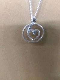 Silver pendent