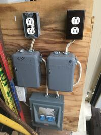 Timer and breaker board for a grow light