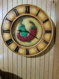 round brown wooden framed wall decor Amarillo, 79119