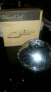 Brand New Pampered Chef Stainless Steamer  Troy, 12180