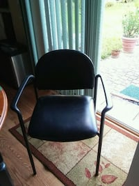 2 chairs comfortable in very good condition stool Sterling