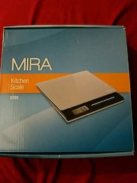 MIRA Glass Kitchen Scale Orange City, 32763