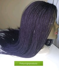 purple braided wig Fort McMurray, T9H 4K1