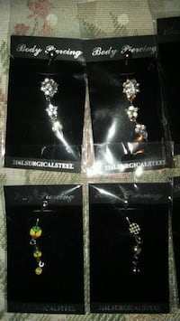 NEW Beautiful Dangle Belly Rings$4 ea OR 3 for $10 Grove City