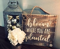 Hand painted wall decor Broussard, 70518