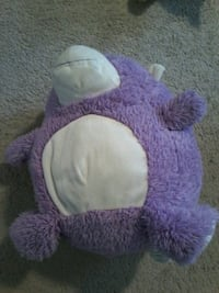 white and purple animal plush toy 3116 km