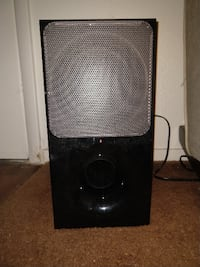 black and gray subwoofer speaker Las Vegas