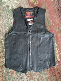 Brand New Hot Leathers Premium Leather Vest Barrie