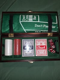 Poker, Blackjack and crap set Brooklyn Park, 55445