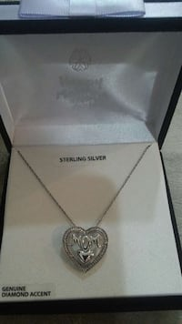 New in the Box Sterling Silver Diamond Necklace Prescott Valley, 86314