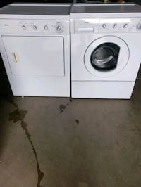 kenmore  gas dryer  and  washing machine