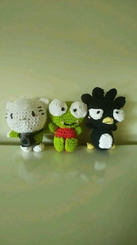 Crochet Hello Kitty Characters
