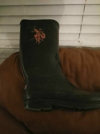 Pair of Polo mud boots. Size 9