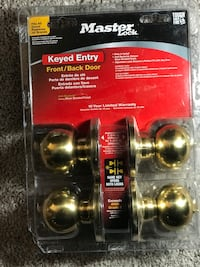 Brand New Master Lock FRONT/BACK Door Twin for Great Deal Jessup, 20794