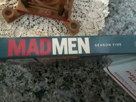 Mad Men season 1 through 5 DVDs