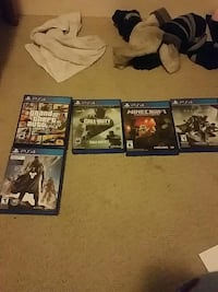 PS4 Pro  W/games and 2 controllers