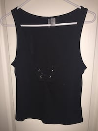 women's black sleeveless top Coquitlam, V3E 2N5