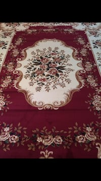 Brand new traditional design rug size 8x11 nice red carpet Burke, 22015
