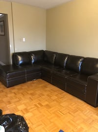 Chocolate Brown Sectional Mississauga, L5V 2S5