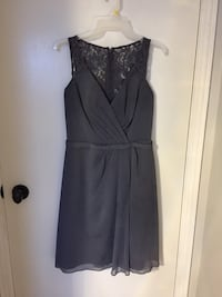 Grey Bridesmaids Dress from David's Bridal size Small Barrie, L4N 4V2