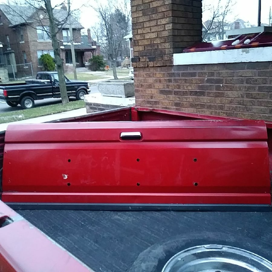 F-150..Tailgate (rust-free),It's was Under Coated!