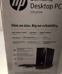 Brand new and unopened HP desktop with keyboard an Albuquerque