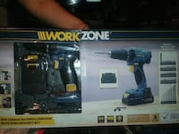 black and blue Bosch cordless drill El Centro, 92243