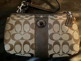 Coach clutch NEW never used