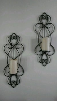 black metal wall mount candle holder Frederick, 21702