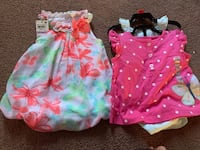 (3) 9 month baby outfits/clothes Manassas, 20109