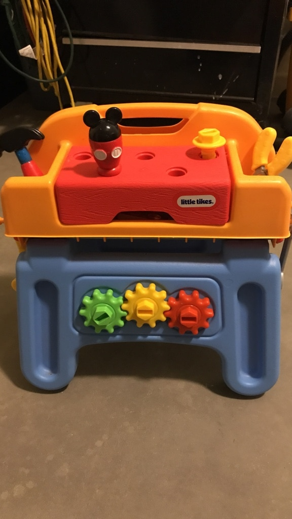 Letgo Little Tikes Tool Bench With A In Queen Creek Az