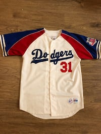"""Los Angeles Dodgers all star Throwback """"Mike Piazza"""""""